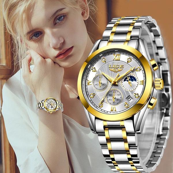 Chronograph, Steel, relojdemujer, Jewelry