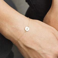 Steel, 18k gold plated cufflinks, Fashion Accessory, 18k gold