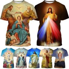 Heart, Shorts, Christian, jesusshirt