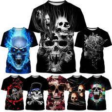 Shorts, Skeleton, skull, unisex