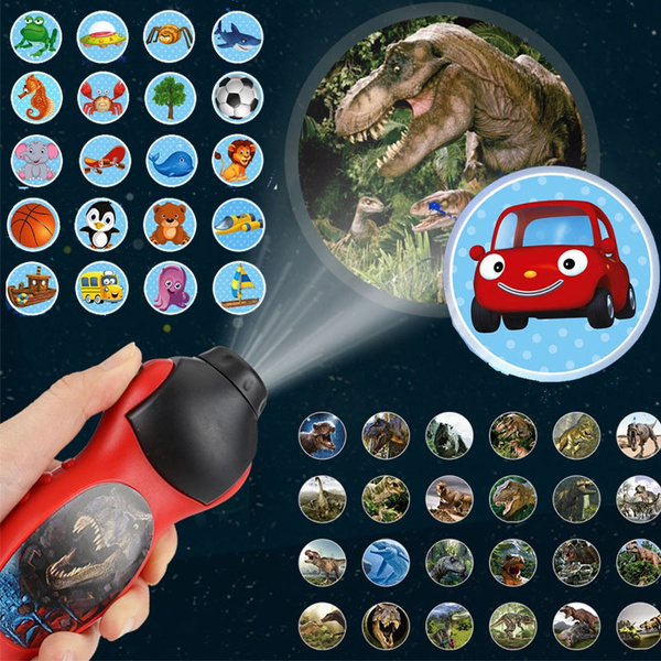 Flashlight, childrensprojectionflashlighttoy, projection, Gifts