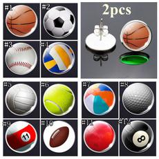 basketballearring, Stud, Sports & Outdoors, Stud Earring
