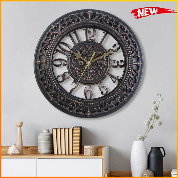 gearhandmade, wallclockdecor, digitalwallclock, Clock