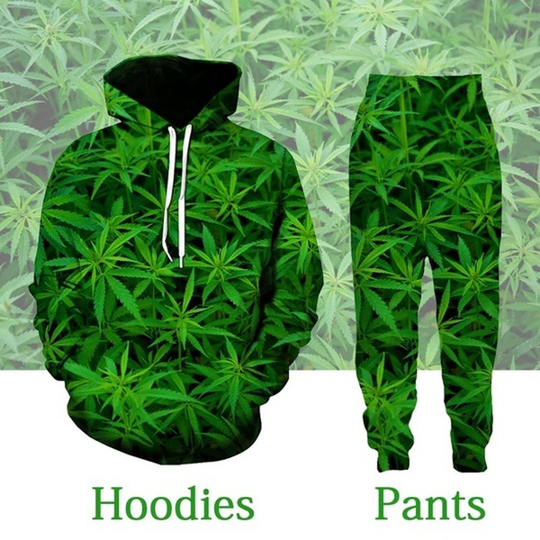 Mens T Shirt, Fashion, leaf, Casual pants