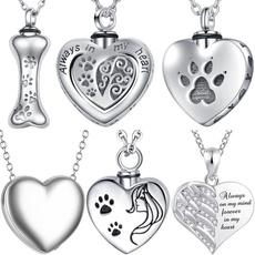 dad, Heart, titanium steel, Jewelry