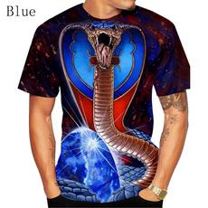 3dprintedsnakeshirt, snakepullovershirt, casualtshirtformen, 3dtshirtformen