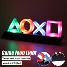 Playstation, Video Games, Interior Design, Neon