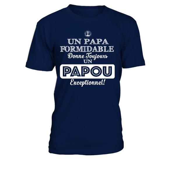 papou, Shirt, teezily, papa