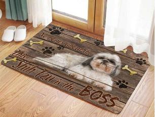 doormat, trymybest, velvet, brown