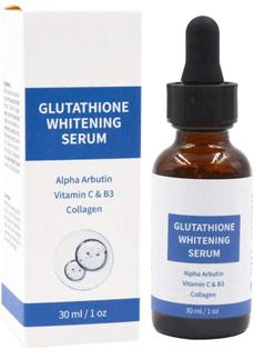 Dark, glutathione, collagen, vitamin