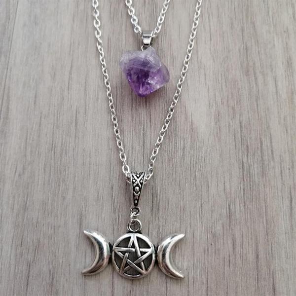 Stone, Witch, Jewelry, Chain