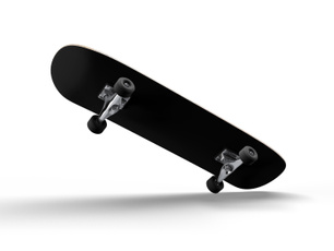 black, Decal, Skateboard, vinyl