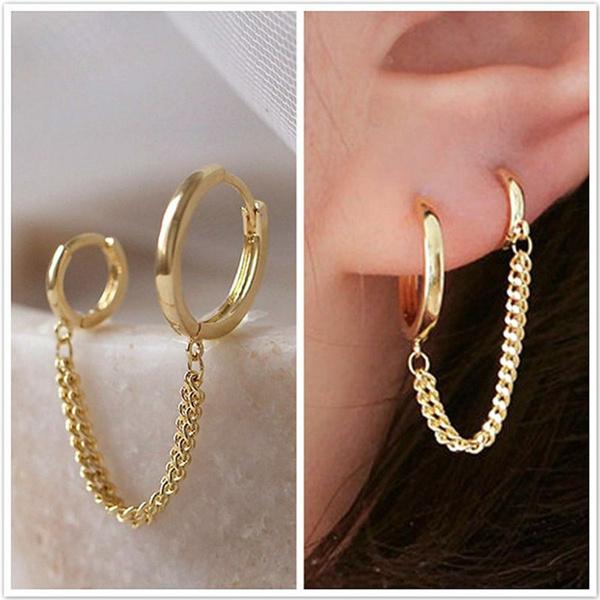 Hoop Earring, Jewelry, Gifts, Stud Earring