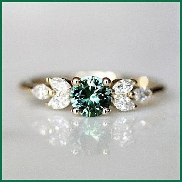 emeralddiamondring, Fashion, fashiondiamondring, 925 silver rings