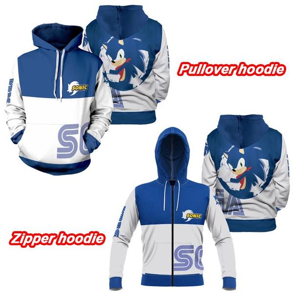 sonicthehedgehoghoodie, sonic, childrenshoodie, 3D hoodies