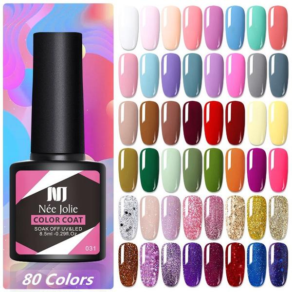 Colorful, Beauty, Nail Polish, mattegel