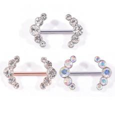 Steel, nipplepiercing, Jewelry, nipplebar