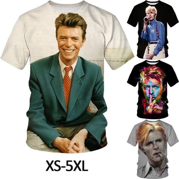 Mens T Shirt, o-neck, Necks, davidbowietshirt