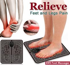 em, footmassager, ten, relieve