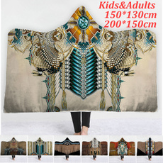 Turquoise, hooded, Fashion, Sofas