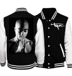 Hoodies, tupacshakur2pacbaseballjacket, casualsportswearjacket, Fashion