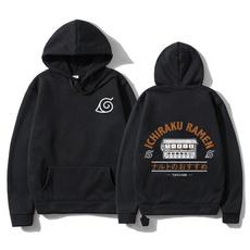 hoodiesformen, Fleece, Loose, Winter