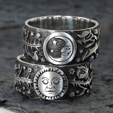 Sterling, metalpunkstylering, Jewelry, 925 silver rings