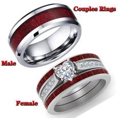 Beautiful, Sterling, Engagement, wedding ring