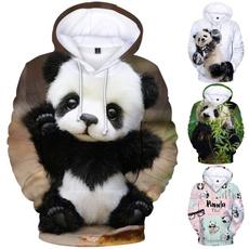 children3dhoodie, 3D hoodies, pandapullover, boyhoodie