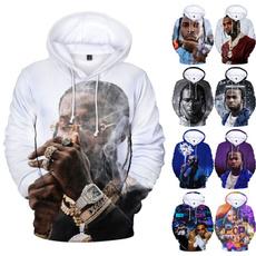 3d sweatshirt men, 3D hoodies, 3dhiphophoodie, Sleeve