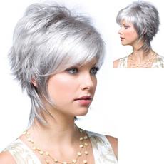 wig, graywig, greywig, hair