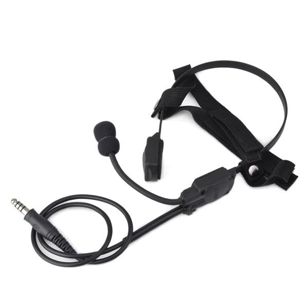 Headset, airsoft', Earphone, ztac
