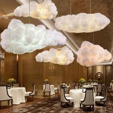 Cotton, cloudchandelier, Lamp, Fashion