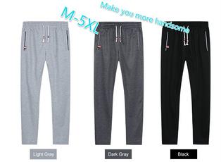 Plus Size, Casual pants, pants, Men