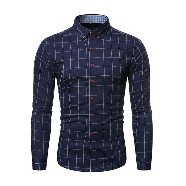 Blouses & Shirts, Plaid Dress, Sleeve, fashion shirt