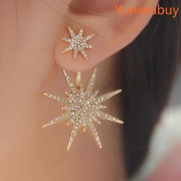 christmasearringsforwomen, Stud, Jewelry, Crystal Jewelry
