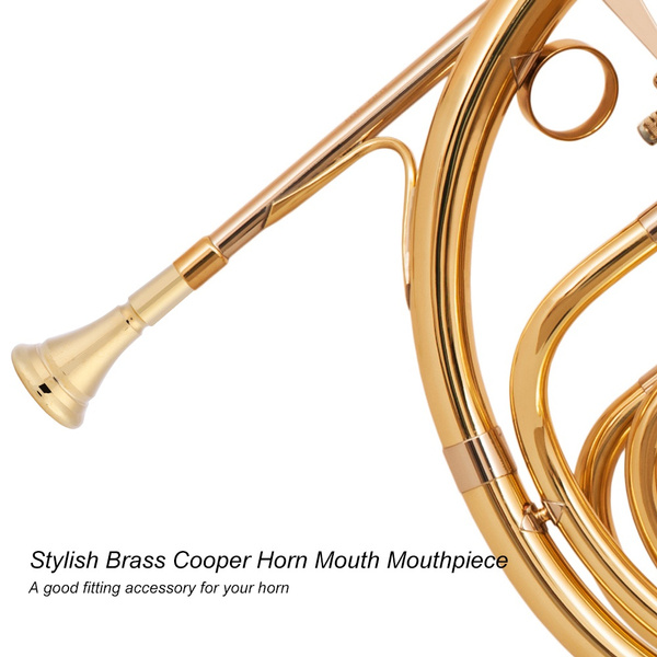 hornmouthpiece, golden, hornmounthpiece, mouth