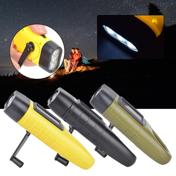 Flashlight, solarhandcrankflashlight, led, camping