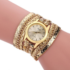quartz, Jewelry, leather, fashion watch