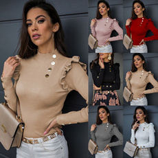 blouse, Tops & Blouses, Fashion, 2021spring