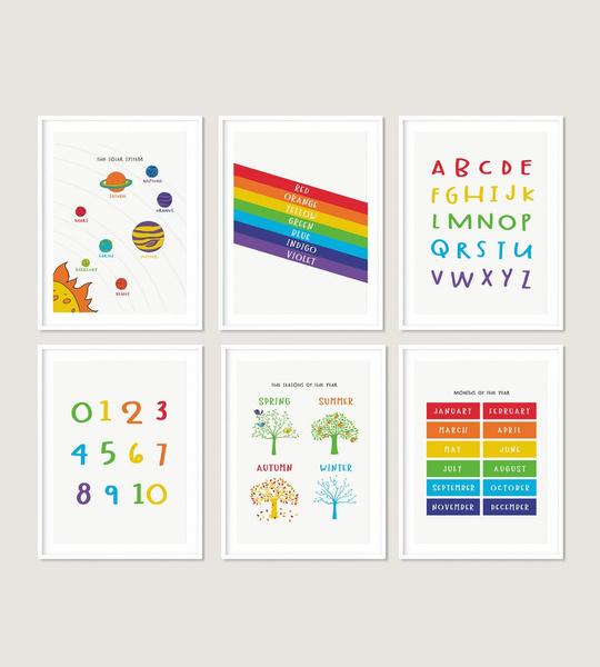 livingroomwallpainting, kidsroomwallpainting, animal print, Colorful