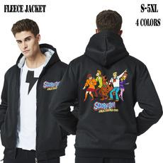 hoodiesformen, Fleece, Plus Size, Winter