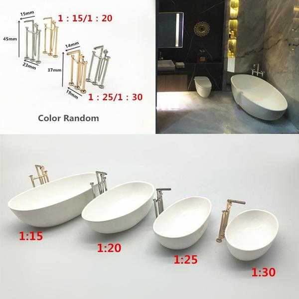 Mini, Bathroom, Toy, Wooden