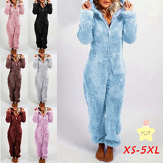 Sleepwear, Fleece, hooded, Winter