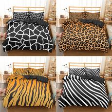 beddingkingsize, King, Black And White, Zebra Print