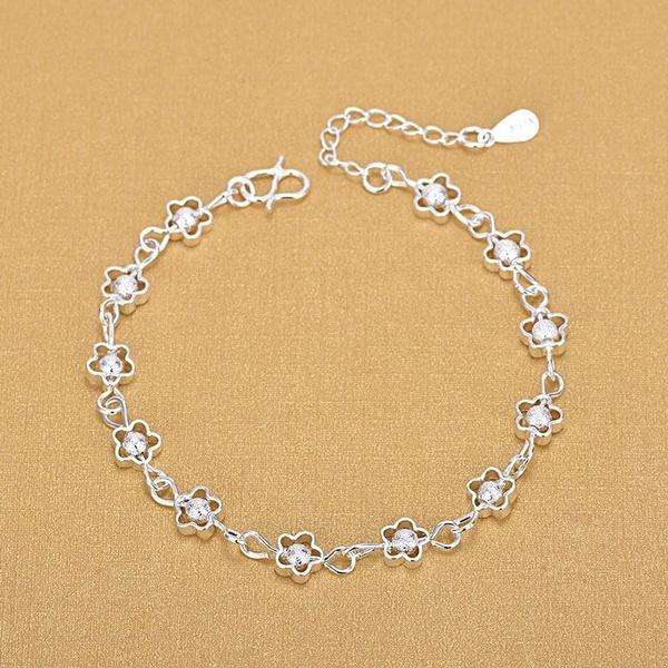 Sterling, Silver Bracelet, Fashion, sterling silver