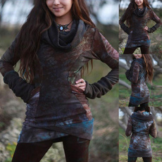 vikingshirt, Plus Size, Medieval, Women Blouse