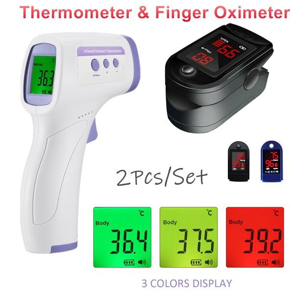 bloodoxygenmonitor, oximetersfingertippulse, thermometergun, Monitors