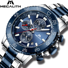 Chronograph, watchformen, quartz, Waterproof Watch