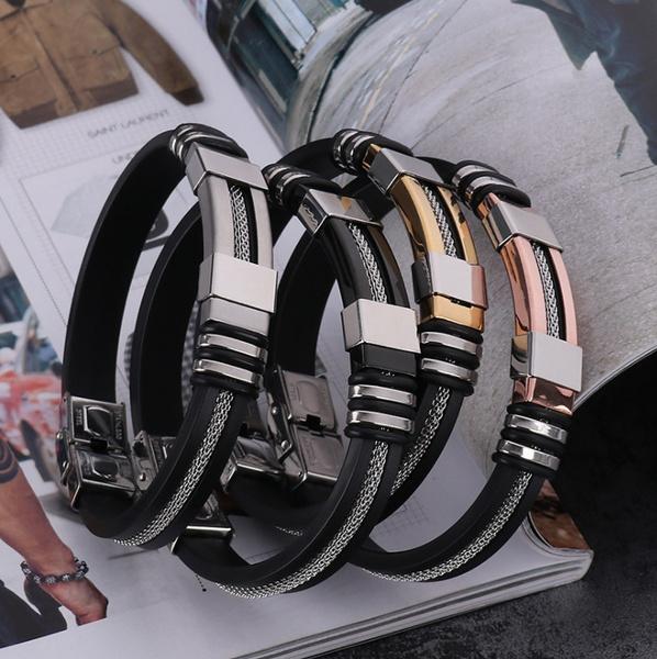 Charm Bracelet, Fashion Jewelry, bikerbracelet, Fashion
